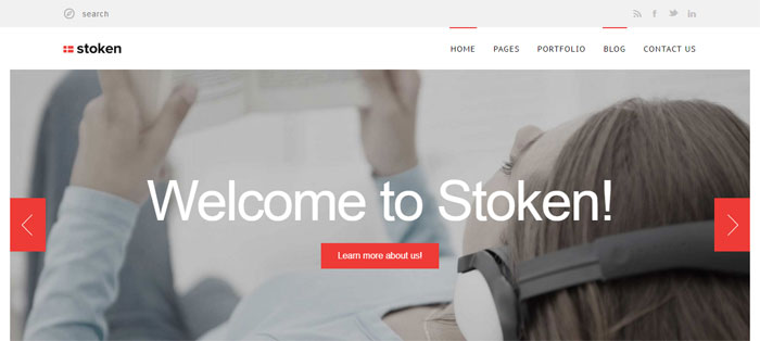 Stoken Architecture WordPress Themes To Design An Architect's Website