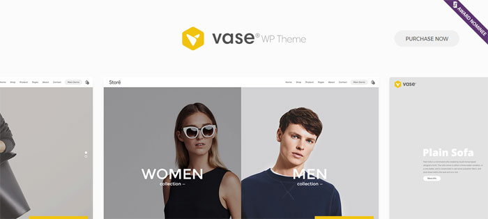 Vase Architecture WordPress Themes To Design An Architect's Website