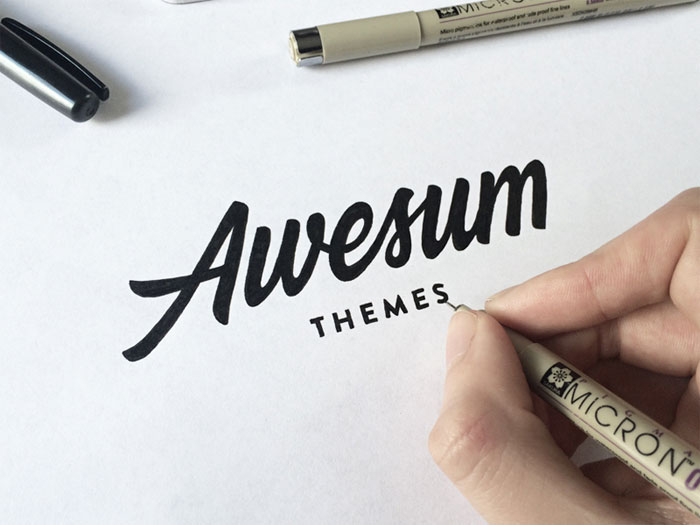 awesum2 Calligraphy for beginners - Guide on learning calligraphy