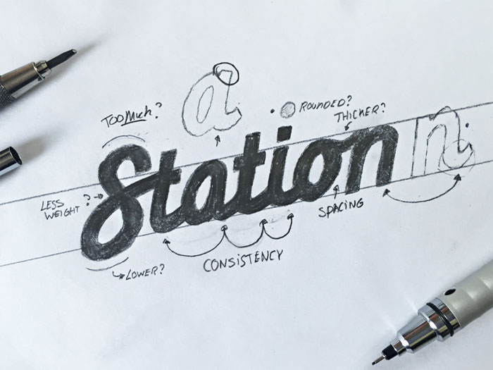stationsketch Calligraphy for beginners - Guide on learning calligraphy