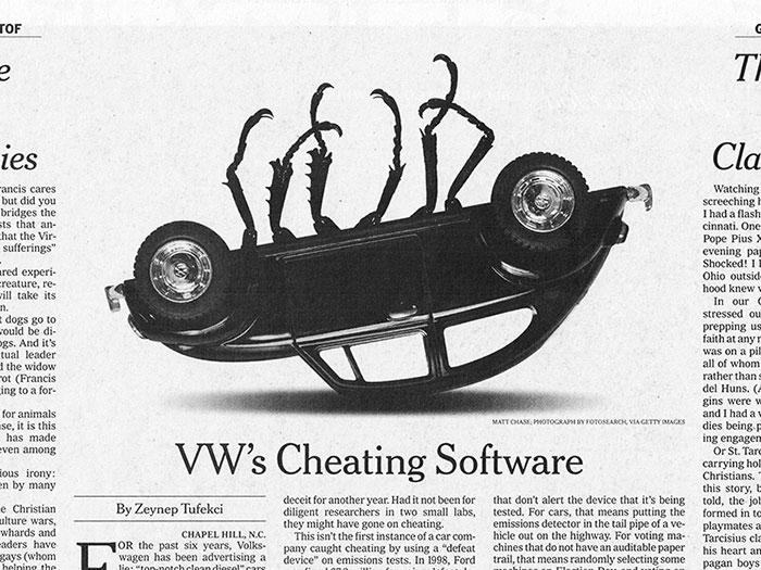 nyt-vw-4x3 Editorial design: definition, tips, and examples