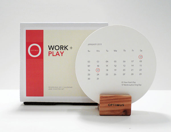 Unique Table Calendar Design : Calendar design tips to your own