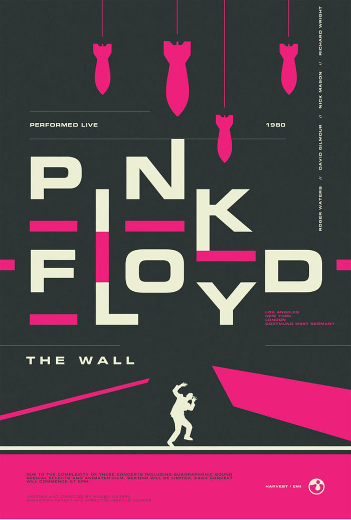 Concert posters: Design, Ideas, and Inspiration To Design ...