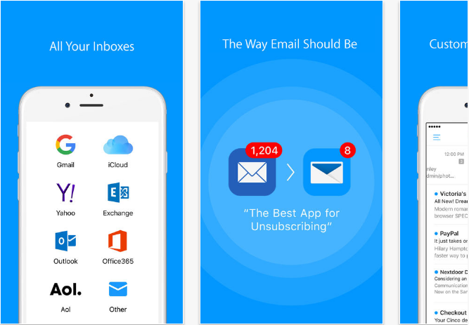 Email-by-EasilyDo iOS productivity apps for iPhone and iPad