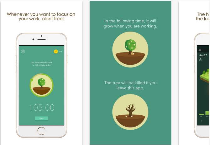 Forest iOS productivity apps for iPhone and iPad