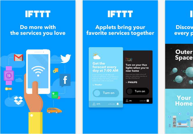 IFTT iOS productivity apps for iPhone and iPad