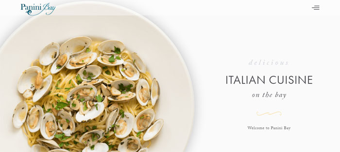 Italian cuisine restaurant websites design tips inspiration and best practices