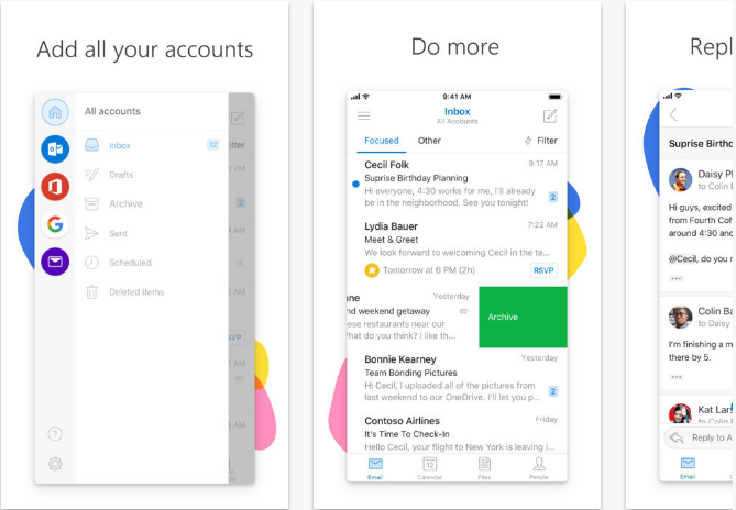 Outlook iOS productivity apps for iPhone and iPad