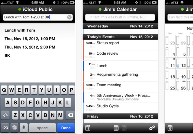 QuickCal-Mobile iOS productivity apps for iPhone and iPad