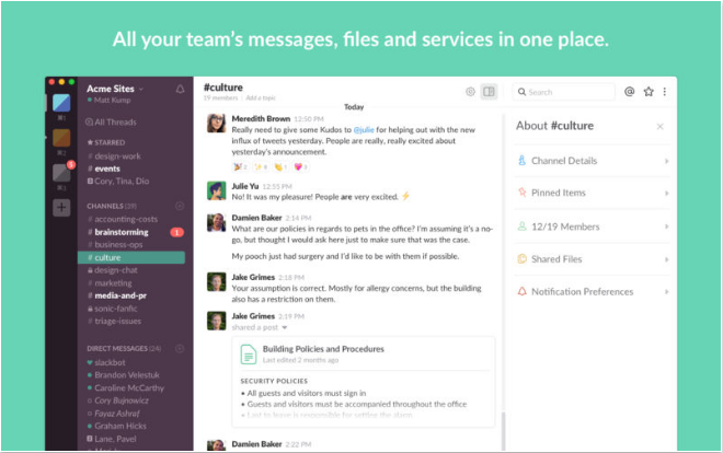 Slack iOS productivity apps for iPhone and iPad