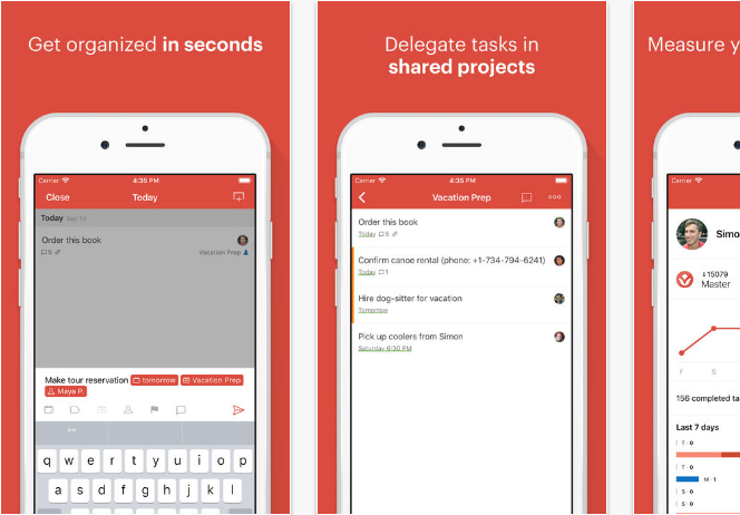Todoist iOS productivity apps for iPhone and iPad