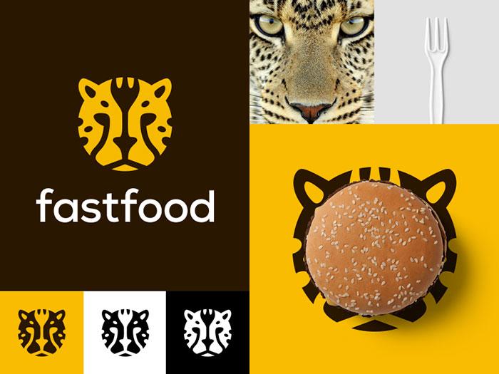Design Retro Fast Food