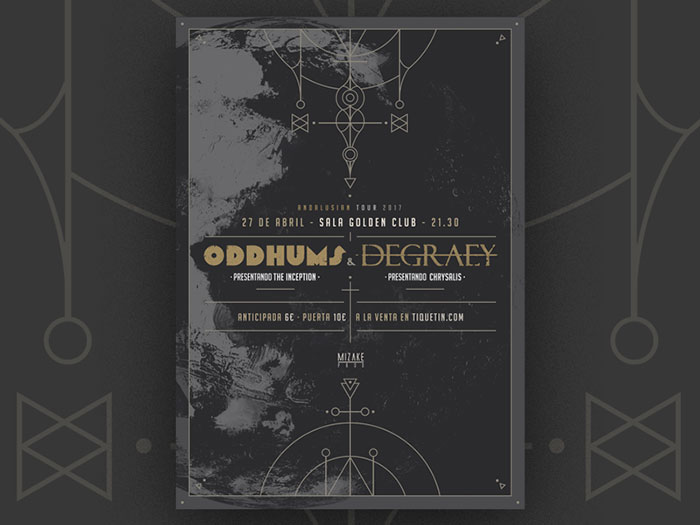 Odd Degr Concert Posters Design Ideas And Inspiration