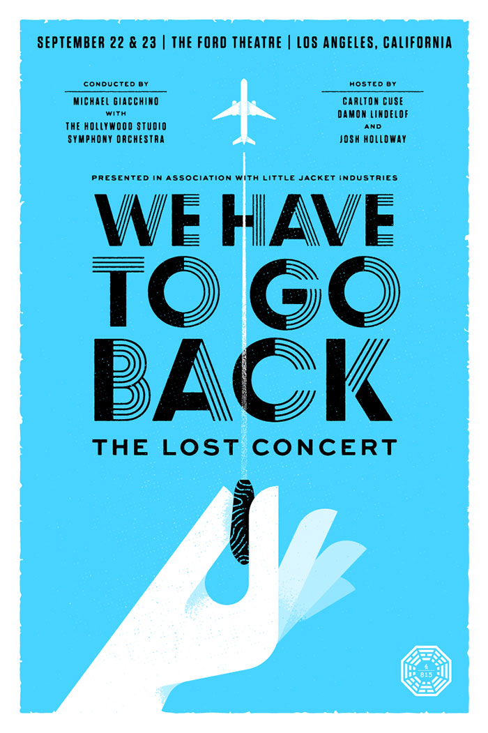wehavetogoback_fullposter concert posters design ideas and inspiration - Poster Design Ideas