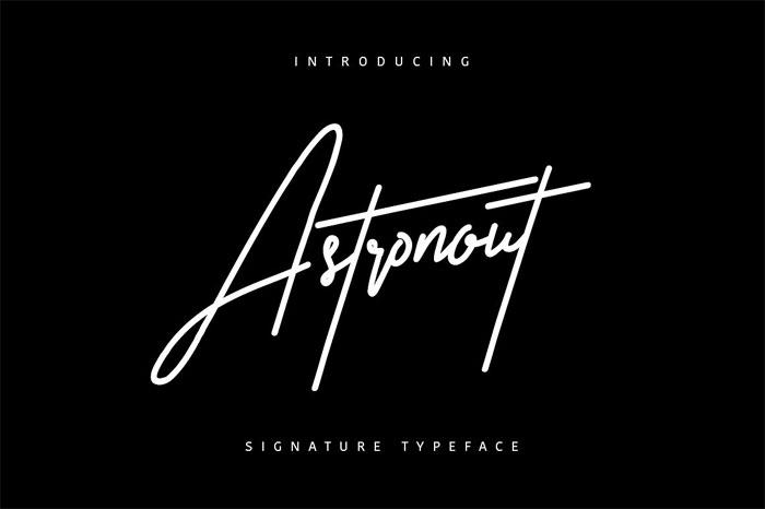 Signature Font Examples: Pick The Best Autograph Font [75 Fonts]