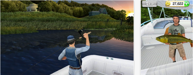 82 iphone sports games that will get you hooked for Fishing kings free