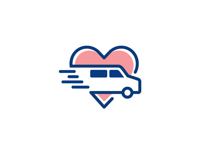 heart logo design inspiration and brands that use it