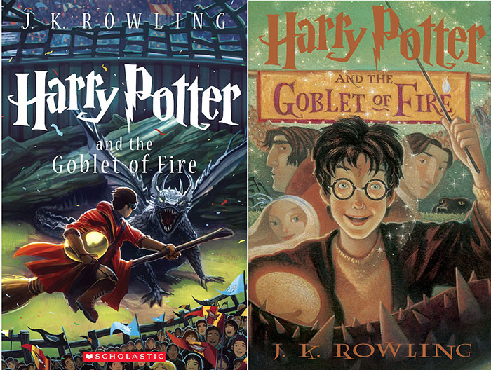 HarryPotter_4 Book Cover Design: Ideas, Layout, Fonts, And How to Create One