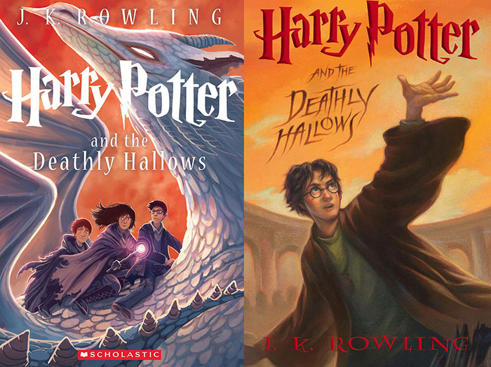 HarryPotter_7 Book Cover Design: Ideas, Layout, Fonts, And How to Create One