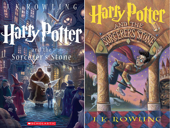 Harrypotter_1 Book Cover Design: Ideas, Layout, Fonts, And How to Create One