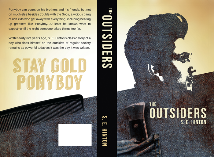 Outsiders_Classic-Book-Cove Book Cover Design: Ideas, Layout, Fonts, And How to Create One