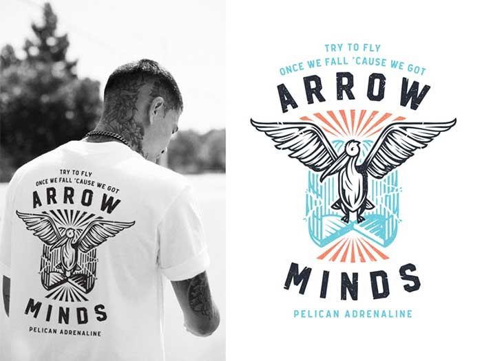 Elegant Arrow Minds T Shirt Design Ideas That Will Inspire You To Design A T
