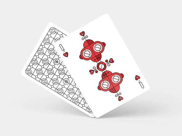 Dribbble Queen Face Cards The Intricate Playing Card Designs