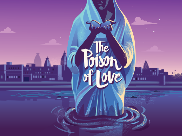 dribbble_poison_of_love Book Cover Design: Ideas, Layout, Fonts, And How to Create One