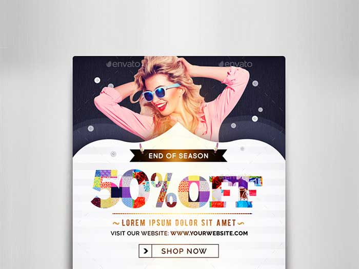 Fashion Vol 4 Banner Ads: Creative Web Banner Design Ideas To Inspire You