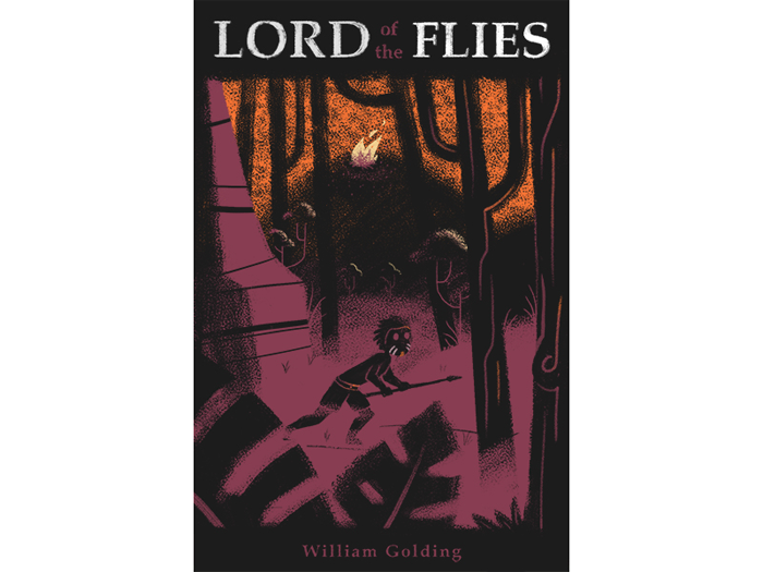 lord_of_the_flies_dribbble Book Cover Design: Ideas, Layout, Fonts, And How to Create One