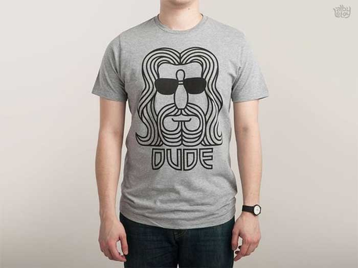 The Dude By Alby Letoy T Shirt Design Ideas That Will Inspire You To A