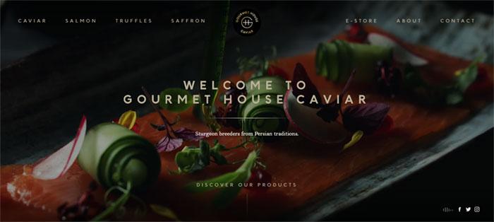 Gourmet-House-Caviar Web Design Basics: What Makes A Good Website