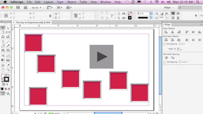 Adobe InDesign tutorial examples that will teach you how to