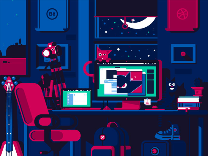 night_work_2 Web Designer Salary: How Much Does A Web Designer Make