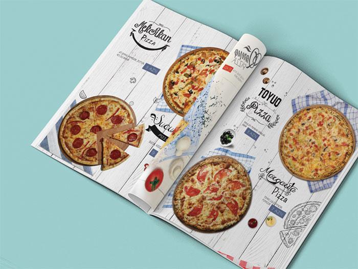 36ec2932727515.569130bbadb8 Diseño del menú del restaurante: Cómo hacer un menú con un gran diseño