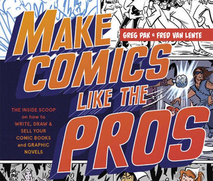 Books-about-Making-Comic-Books-700x594 Cómo hacer un cómic: diseño, personajes y portada