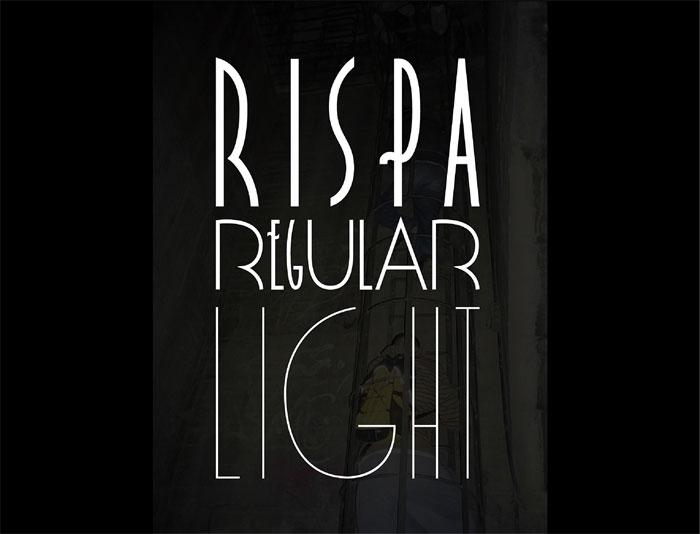 Rispa Retro Fonts Free Vintage To Download