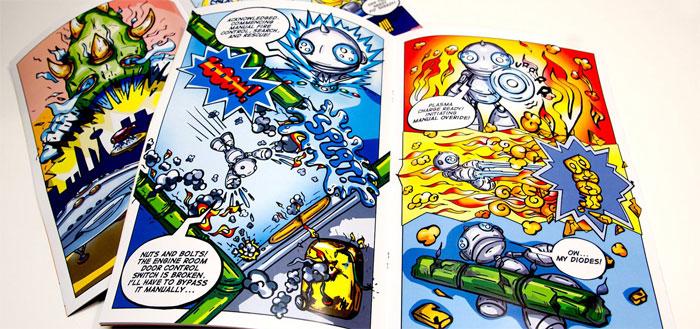 article-8 Cómo hacer un cómic: diseño, personajes y portada
