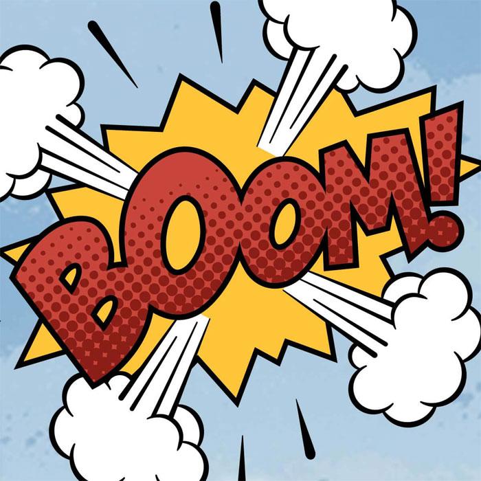 comic-theme-boom-announceme Cómo hacer un cómic: diseño, personajes y portada