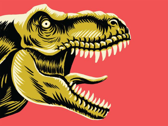 inchxinch_t-rex Cómo hacer un cómic: diseño, personajes y portada