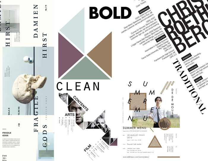 inspiration3 Mood board design: How to create a mood board