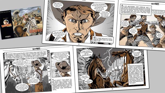 web-and-graphic-design-comi Cómo hacer un cómic: diseño, personajes y portada
