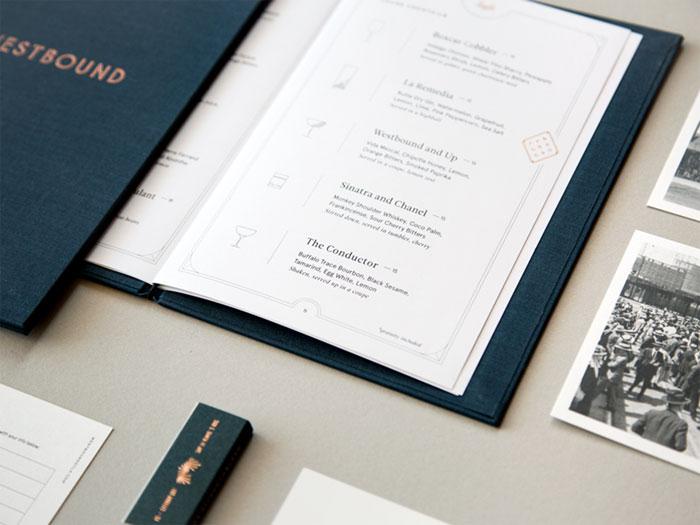 westboundmenu2 Restaurant Menu Design: Cómo hacer un menú con un gran diseño