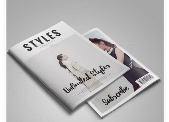 Magazine Mockup Template Free | Free Magazine Mockup Examples You Should Check Out