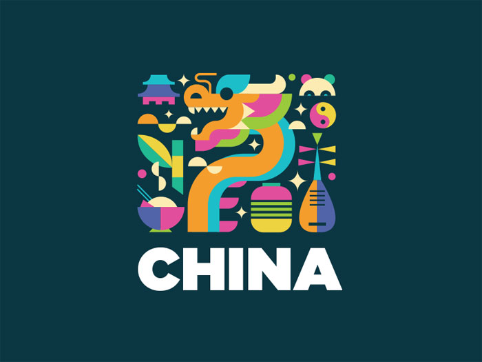 china-1 Animal logo design ideas and guidelines to create one