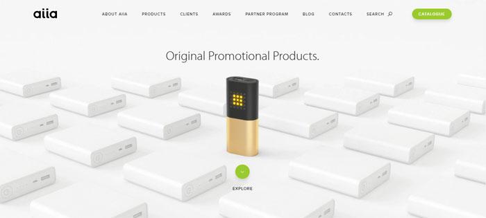 Screenshot Creating B2B Websites: Tips and showcase of B2B website design