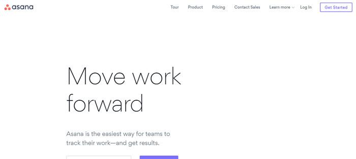 asana.com_ Creating B2B Websites: Tips and showcase of B2B website design
