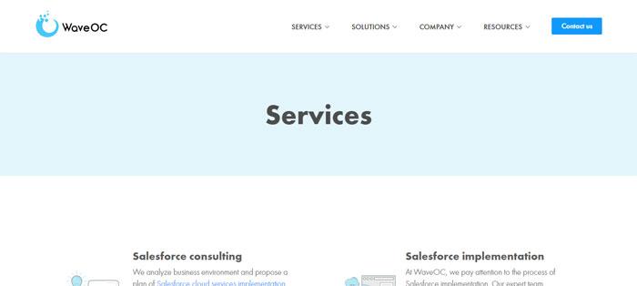 waveoc.com_services Creating B2B Websites: Tips and showcase of B2B website design