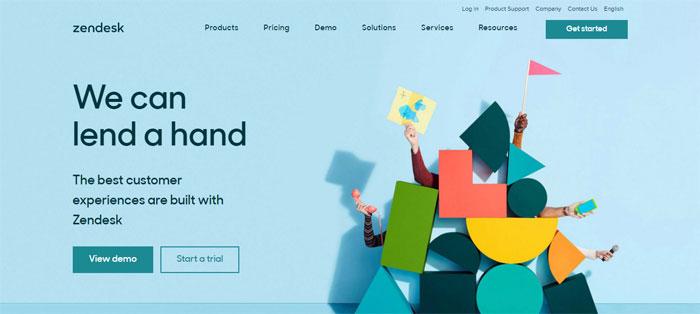 zendesk.com_ Creating B2B Websites: Tips and showcase of B2B website design