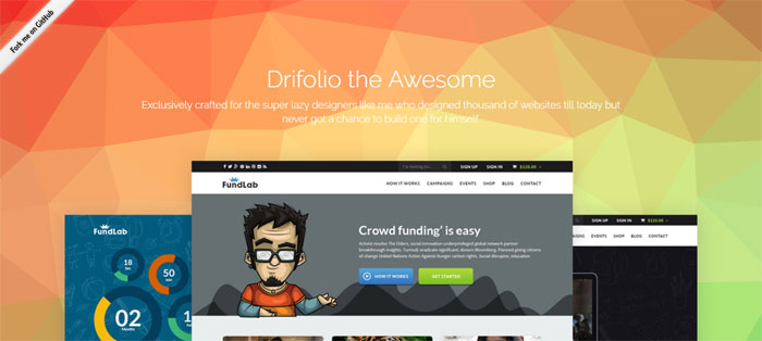 drifolio bootstrap free html templates for portfolios real estate business websites and more
